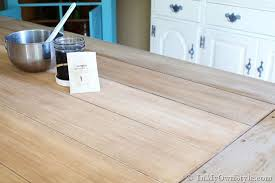 Driftwood Kitchen Table Furniture Makeover Weathered Driftwood Furniture Finish In My