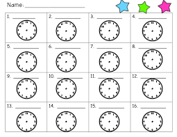 smiles from second grade telling time flash freebie and