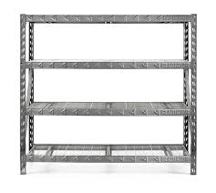 Heavy Duty Garage Shelving by Gladiator Premium Welded Steel Rack Shelving Unit 77
