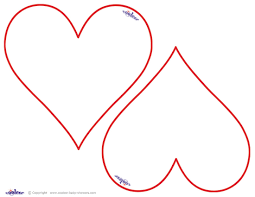 best 25 printable heart template ideas on pinterest