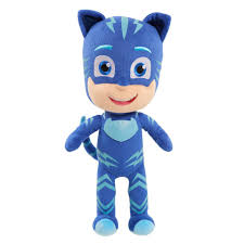 pj masks 14 inch sing and talk stuffed catboy blue toys