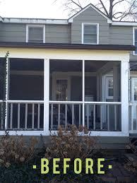 turn screen porch into sunroom