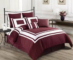 White Bedroom Furniture Design Ideas Burgundy And White Bedroom Dzqxh Com