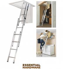 Attic Stairs Design Ideas Appealing Staircase Design With Telescoping Attic Ladder
