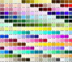 pantone chart seller pantonecolorchart fabric tammikins spoonflower