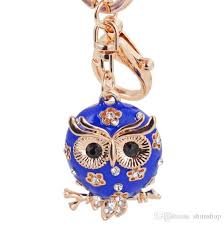 cool key rings images Fashion beautiful keychain owl key chain car accessories key rings jpg
