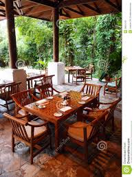 Outdoor Dining Rooms by Outdoor Dining Restaurant Nature Surroundings Stock Photography