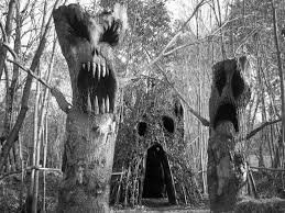 haunted overload forest monsters trees pinterest monsters