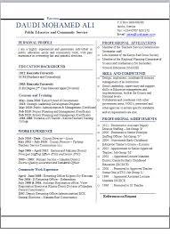 cv samples pdf and microsoft word format