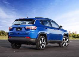dark blue jeep the new jeep compass 2018 2019 is the older brother of the jeep