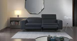canap contemporains canapé contemporain en cuir 3 places avec repose tête