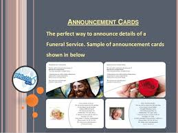 funeral stationary funeral stationery services