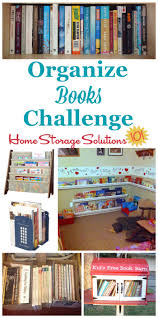 organize home how to organize books in your home