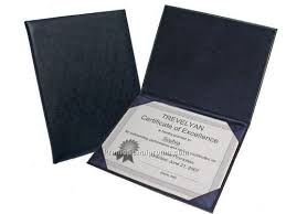 diploma holder leather diploma or certificate holder china wholesale