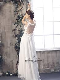 robe de mari e boheme chic de ceremonie boheme summer style femmes blanc dentelle boheme