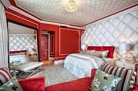 Deco Chambre Rouge by Chambre Rouge Vif Design De Maison