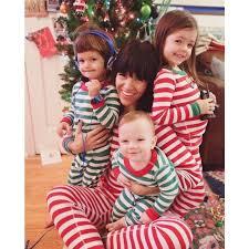 matching pajamas family striped pyjamas