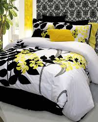 Cheap Black Duvet Covers Yellow And Black Duvet Covers 8039
