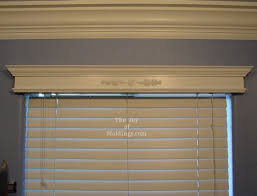 Where To Buy Window Valances How To Build A Small Valance Box For 14 54 The Joy Of Moldings Com