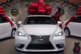 big lexus car buying someone a car for christmas is a horrible idea