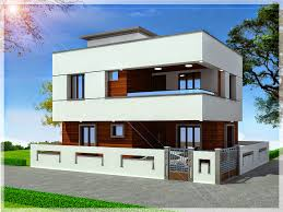 triplex house plan india home design and style