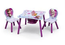 amazon com delta children table and chair set with storage amazon com delta children table and chair set with storage disney frozen baby