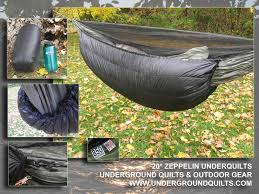 20 degree underquilt backpacking insulation outdoortrailgear