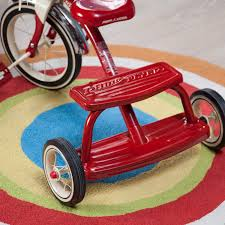 Radio Flyer Tricycle Bell Radio Flyer 12 In Classic Dual Deck Tricycle Red Ebay