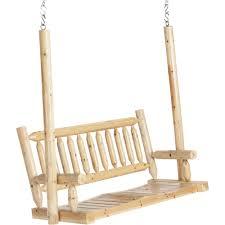 stonegate designs wooden porch swing u2014 model csn 81908 northern