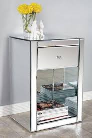 nightstands mirrored nightstand home goods mirrored furniture