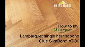 how to lay parquet on the