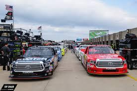nascar trucks race under the lights at texas motor speedway the