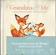 recordable books 9781595303721 me a conversations to keep recordable