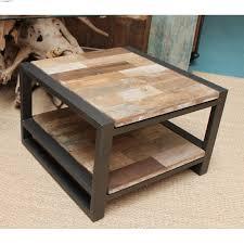 Table De Salon Industrielle by Table Basse De Salon Efr Et Bois De 60 Cm