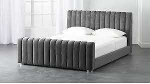 Velvet Bed Frame Velvet Bed Cb2