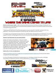 monster truck destruction game