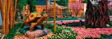 Botanical Gardens In Las Vegas Bellagio Las Vegas Celebrates Japanese Gardens Latf Usa