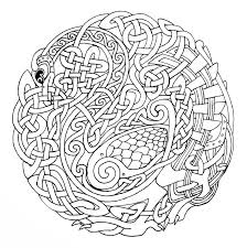celtic coloring pages for adults fablesfromthefriends com
