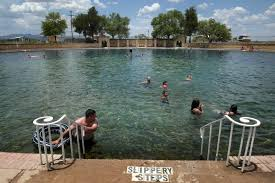 see balmorhea state park swimming pool like never before empty