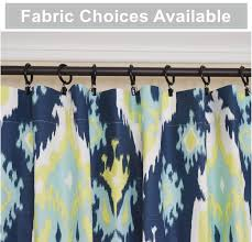 pair of peacock curtain panels lime green navy blue curtains