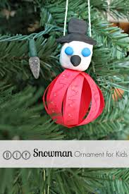 being mvp crayola snowman ornament craft for tutorial