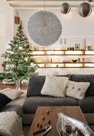 Wohnzimmer Deko Grau Wohnzimmer Zu Weihnachten Dekorieren 35 Inspirationen