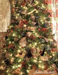 brown christmas tree large country christmas decorating ideas decorates