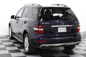 mercedes suv used 2011 used mercedes m class certified ml350 4matic awd suv