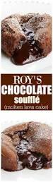 roy u0027s chocolate souffle molten lava cake