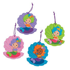 mermaid ornament craft kit ornament crafts crafts for kids