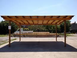 tettoia auto legno gazebo per auto fai da te avec tettoia in ferro con prezzi