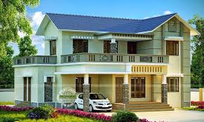 slope roof double storey home design architecture and art worldwide