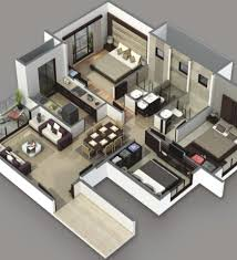 Interior Design    Bedroom House Plans Interior Designs - 3d design home