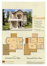 Emerald Homes Floor Plans House And Lot For Sale In Cebu And Bohol Floor Plans Of Camella